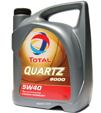TOTAL QUARTZ 9000 5W40 5 Л