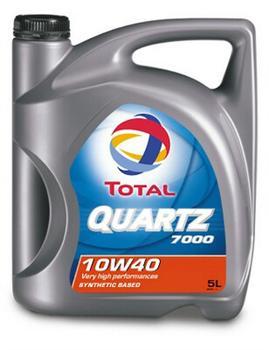 TOTAL QUARTZ 7000 10W40 5 л