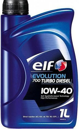 ELF Evolution Turbo Diesel 10W40 1 л