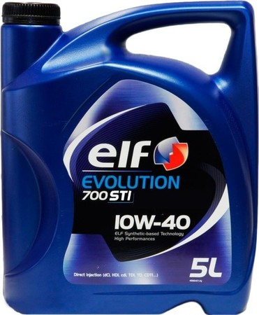 ELF Evolution 700 STI 10W40 5 л