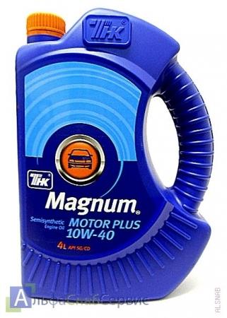 ТНК MAGNUM MOTOR PLUS 10W40 4 л