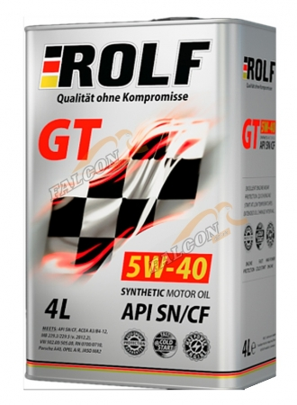 ROLF GT 5W40 4 Л