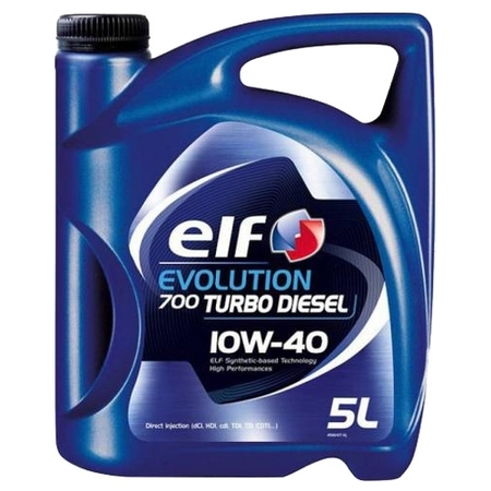 ELF Evolution Turbo Diesel 10W40 5 л