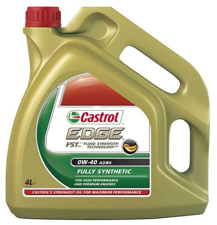 CASTROL EDGE 0W-40 4л