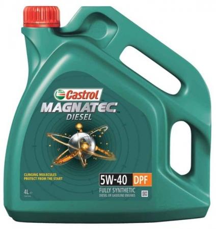 CASTROL MAGNATEC DIESEL 5W-40 4л