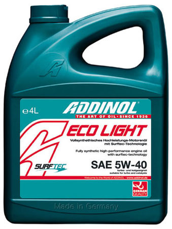 Eco Light MV 0540 5W-40 4л
