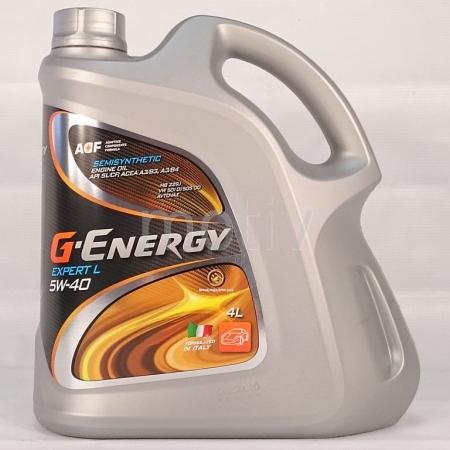 G-ENERGY EXPERT L 5W40 4 л