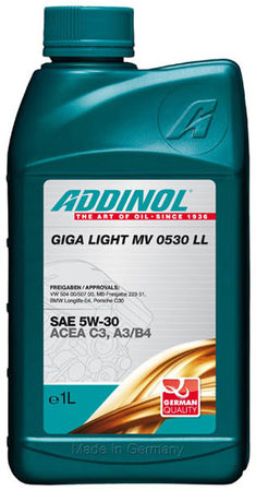 Giga Light MV 0530 LL 5W-30 1л
