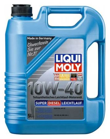 Liqui Moly Diesel Leichtlauf 10W-40 5л