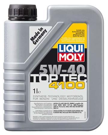 Liqui Moly TOP TEC 4100 5W-40 1л