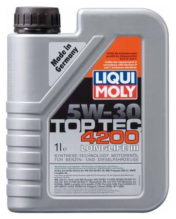 Liqui Moly TOP TEC 4200 5W-30 1л