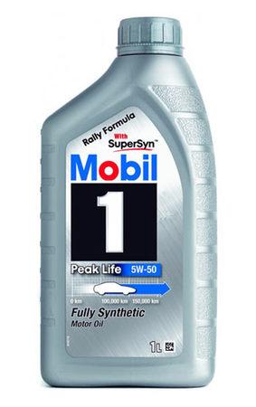 MOBIL Peak Life 5W-50 1л
