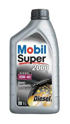 MOBIL Super 2000 Diesel 10W-40 1л