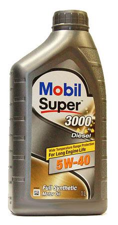 MOBIL Super 3000 Diesel 5W-40 1л
