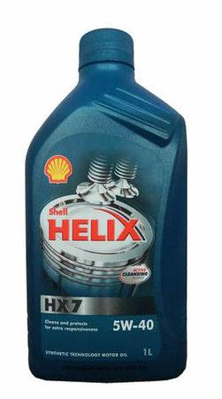 SHELL Helix HX7 5W-40 1л
