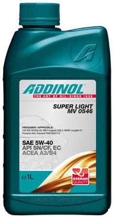 Super Light MV 0546 5W-40 1л