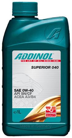 Superior 040 0W-40 1л