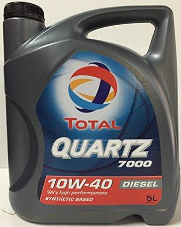 TOTAL QUARTZ D7000 10W40 5 Л